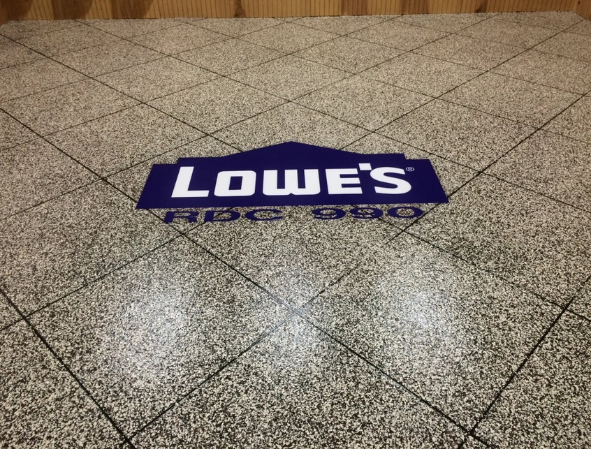 Lowes Embedding Flooring Logo | St. Mary's Ohio