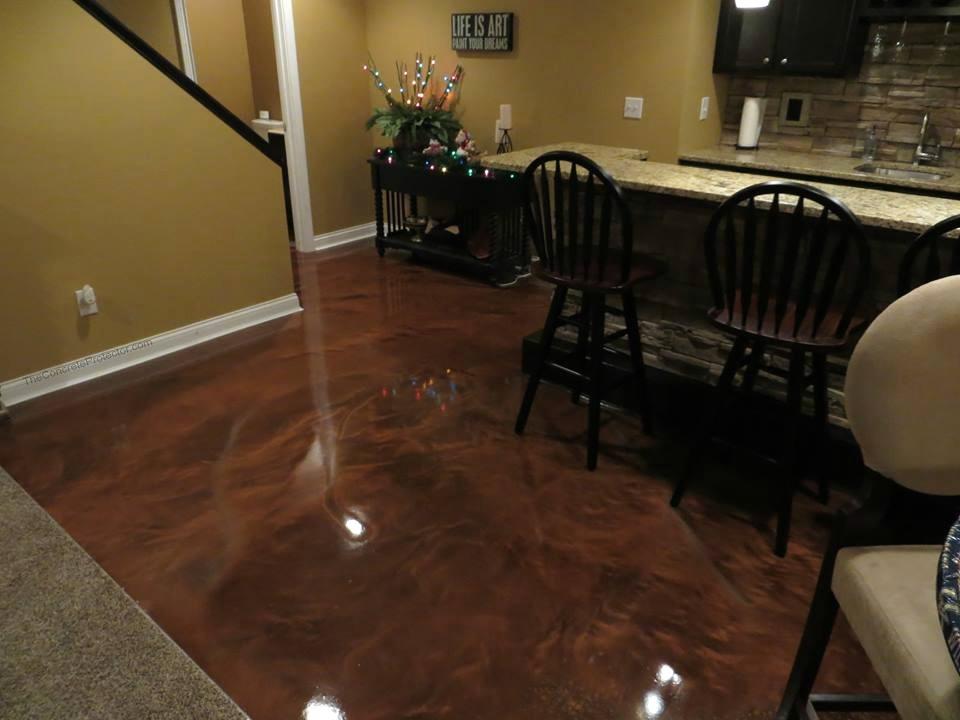 Metallic Marble Epoxy Flooring | Coldwater Ohio