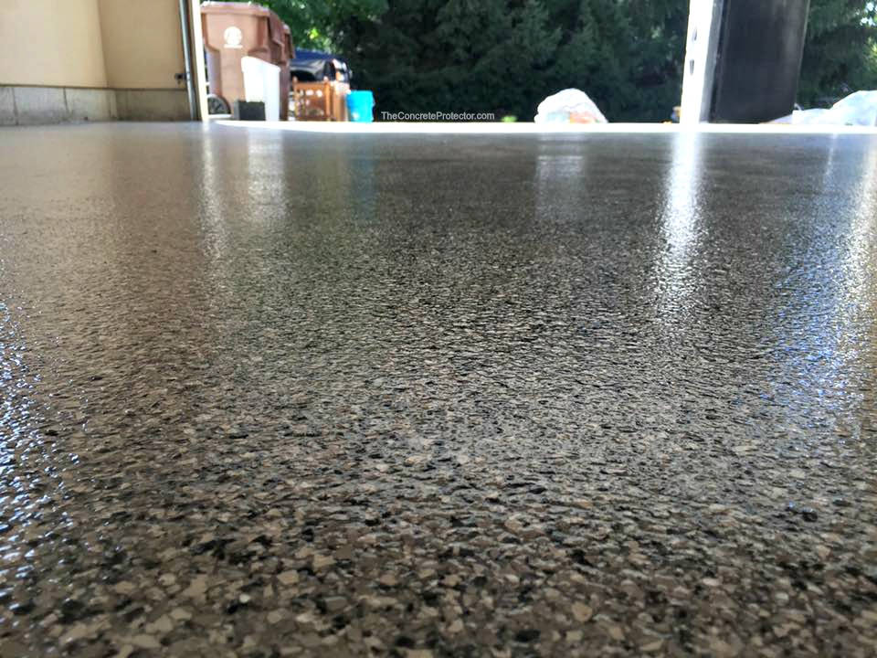 Epoxy Flake Outdoor Flooring | Celina Ohio