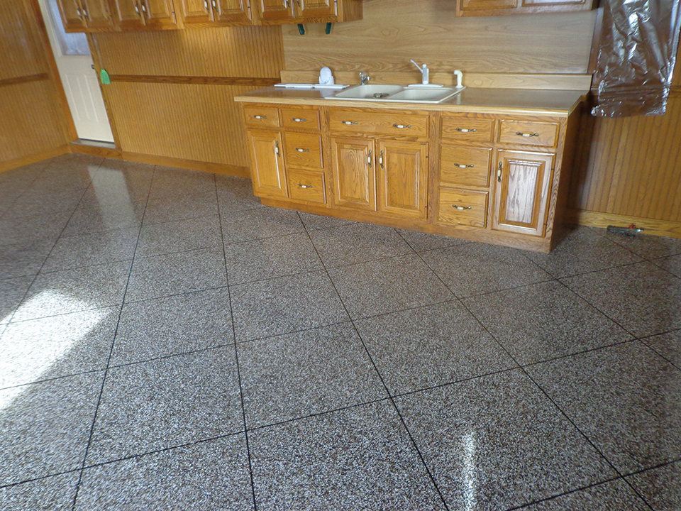 Epoxy Flake Flooring | Celina Ohio
