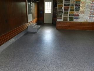 Epoxy Flake Garage Flooring | Celina Ohio