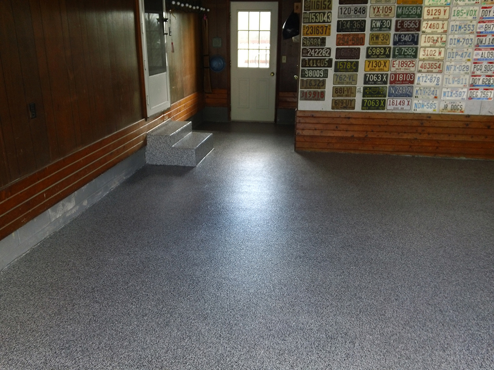 Epoxy Flake Garage Flooring | Celina Ohio