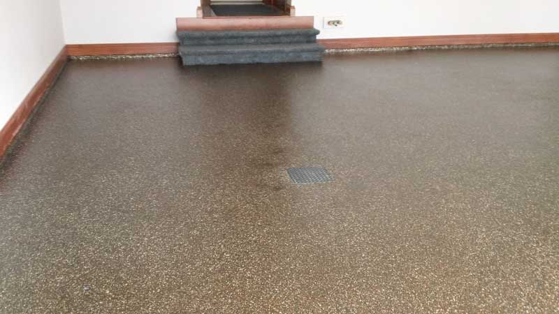 Epoxy Flake Garage Flooring | St. Mary's Ohio
