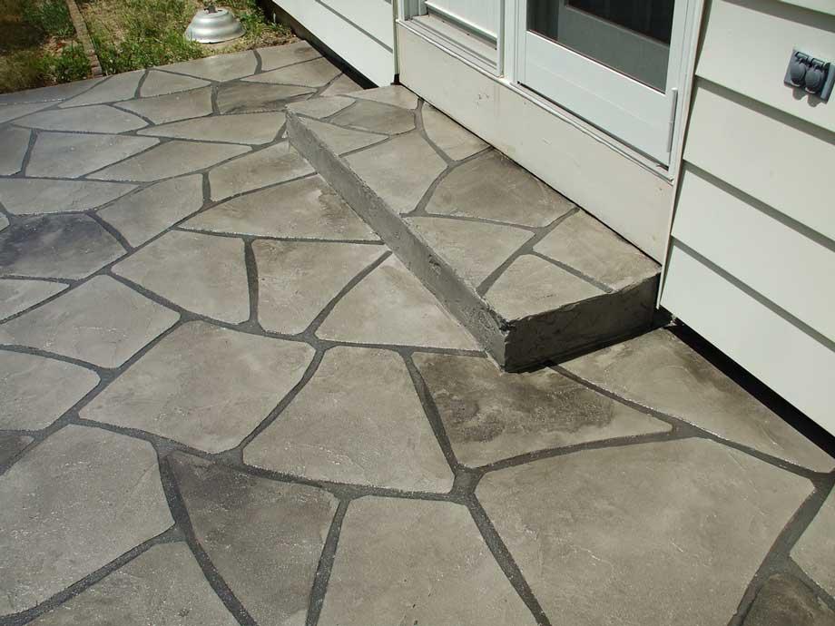 Grand Flagstone Concrete Patio | Celina Ohio