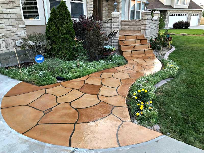Grand Flagstone Concrete Patio | St. Mary's Ohio