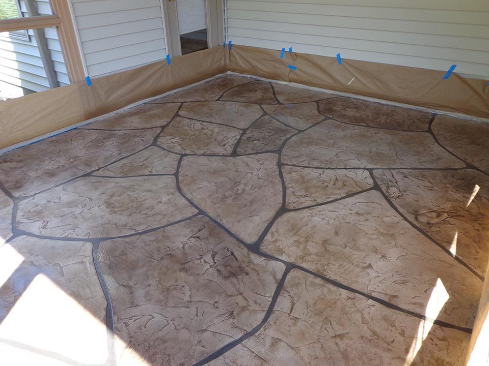 Grand Flagstone Concrete | Celina Ohio