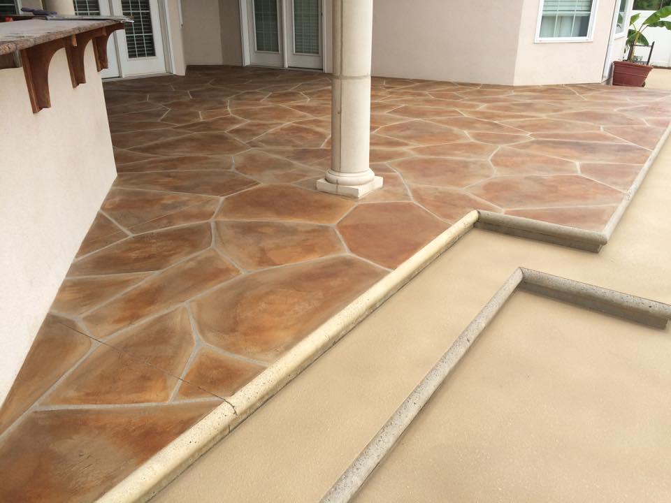 Grand Flagstone Concrete Patio | Van Wert Ohio