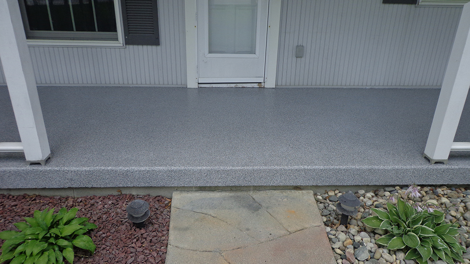 Graniflex Front Porch Resurfacing | St Marys Ohio