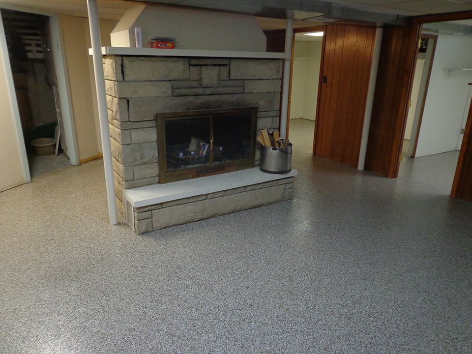 Graniflex Basement Floor Resurfacing | Celina Ohio