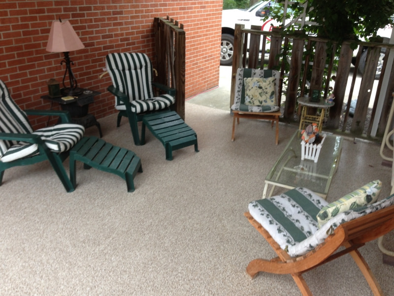 Graniflex Concrete Patio Resurfacing | Celina Ohio