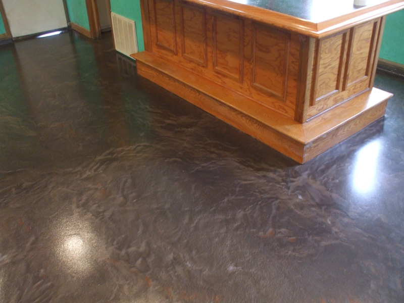 Metallic Marble Epoxy Flooring | Celina Ohio