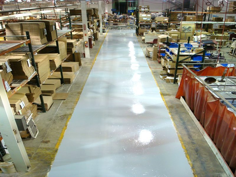 Durable Resinous Flooring | Celina Ohio