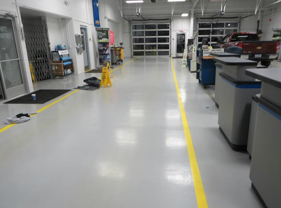 Durable Resinous Flooring | Van Wert Ohio