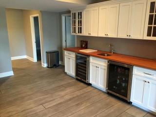Rustic Wood Concrete Resurfacing | Coldwater Ohio