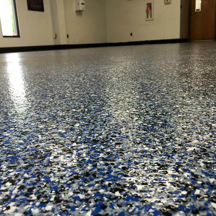 Epoxy Flake Flooring American Dynamic Coatings